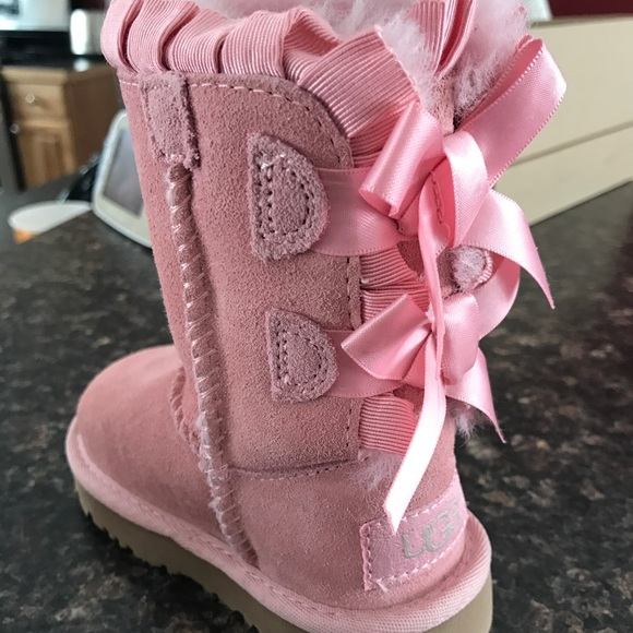 UGG Shoes | Ugg Bailey Bow Ruffle Boots